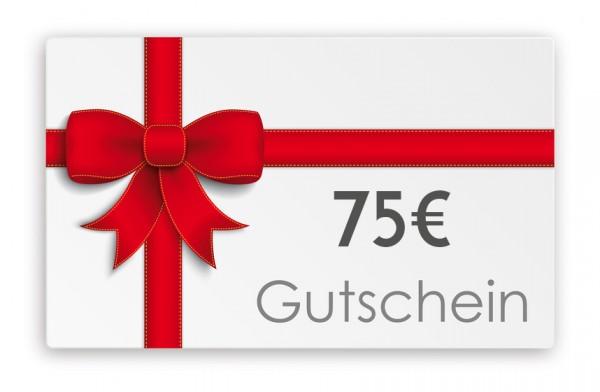Geschenkgutschein 75€